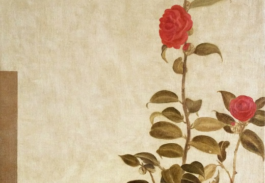 T011 Red Camellia- Imitate the Ancient Painting Style